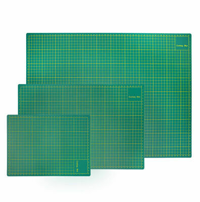 A2, A3, A4 or A5 Cutting Mat Non Slip Printed Grid Lines Knife Board Craft Model