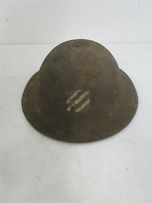 Vintage WWI World War 1 Military Helmet Military Armed Forces