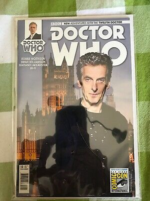 Doctor Who Twelfth Doctor #10 San Diego Comic Con Photo Variant C SDCC NM/M 2015