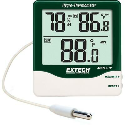 Extech Instruments Big Digit Indoor/Outdoor Hygro-Thermometer Humidity Measure