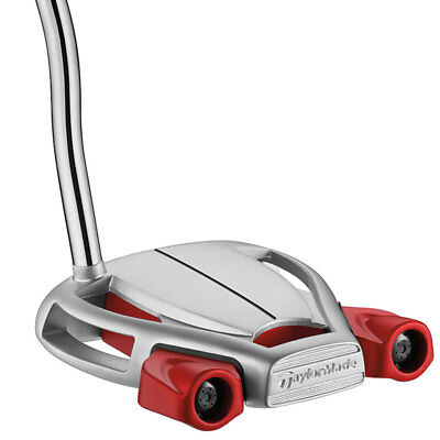 """New Right Handed TaylorMade Spider Tour Platinum 35"""" Putter SuperStroke Tmade"""