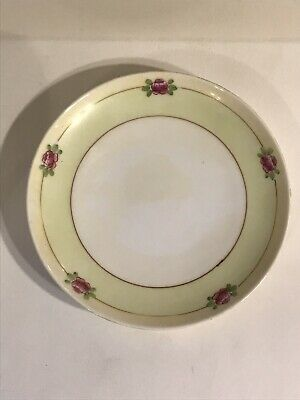 Vintage Meito Fine China Hand Painted  Saucer The Jomroth Hand Painted Studio