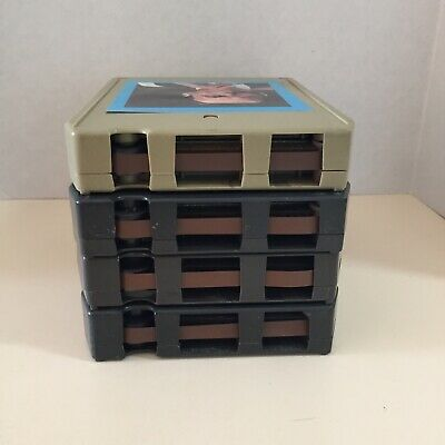 Vintage Lot of 4 Eight Track Stereo Tapes Various Artists