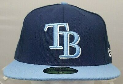 size 40 ecaa4 7e746 Tampa Bay Rays MLB New Era 59Fifty fitted cap hat