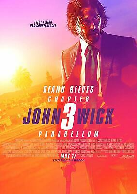 John Wick: Chapter 3 - Parabellum BRAND NEW BLU-RAY Pre-order Sep Keanu Reeves