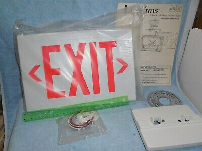 Liteforms Collection LED Exit Sign Model LXSRW
