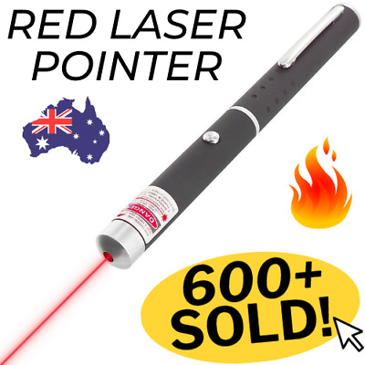 🔥 Red LASER Beam POINTER Pen 650nm 1mW Lazer CAT Dog PET TOY Fun Training Light