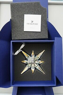 Swarovski 5403200 STAR ORNAMENT, CRYSTAL AB Authentic, New