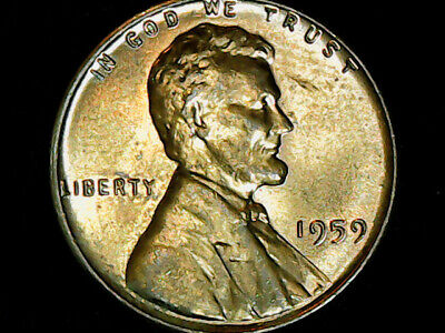 1959 Lincoln Memorial Penny - Cent