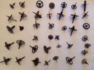 Clock Escape Wheels Cogs 40 Selection Ex Clockmakers Spare Parts Collection