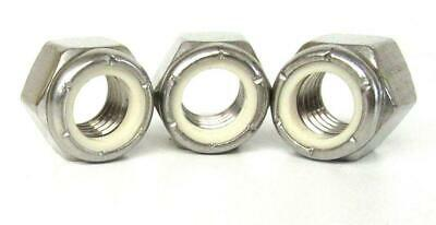 16 UNC A2 STAINLESS IMPERIAL NYLOC NUTS PACK OF 10 x 3//8