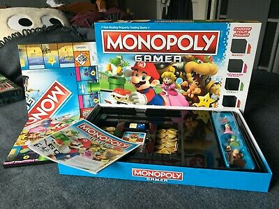 Monopoly Gamer edition Boxed and complete. Excellent condition.