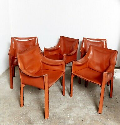 Set 1977 MARIO for of 413 I Stuhl Cassina BELLINI CAB Chair rdQxWEBoCe