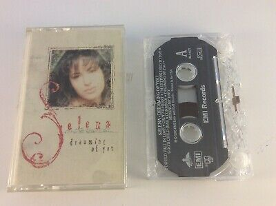 Selena - Dreaming Of You CASSETTE (1995, EMI) RARE FREE SHIPPING