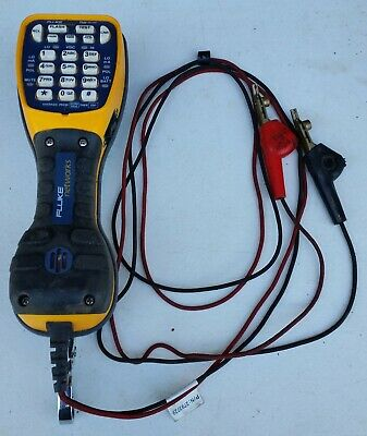 Fluke Networks Ts44 Deluxe Butt Set TS 44 -- USED - tested in working condition