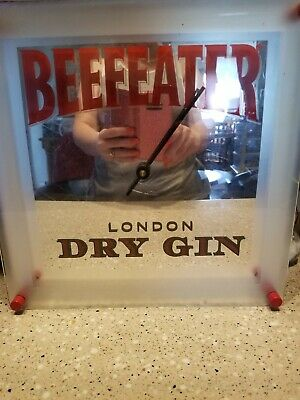 Beefeater Gin Mirrored Clock