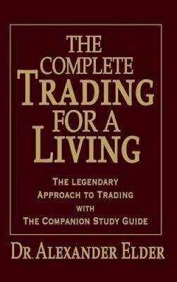 Complete Trading for a Living by Elder 9780470040942 | Brand New