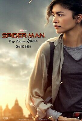 Spiderman Far From Home movie poster (g) - Zendaya poster - 11 x 17 inches