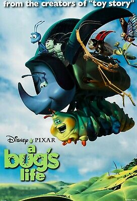 A Bug's Life movie poster  :  Walt Disney  : 11 x 17 inches