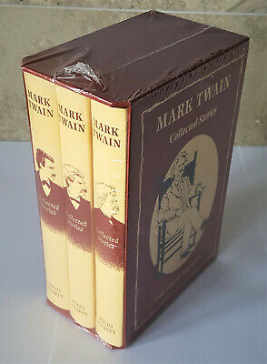 FOLIO SOCIETY MARK TWAIN COLLECTED SHORT STORIES 3 Volumes NEW SEALED
