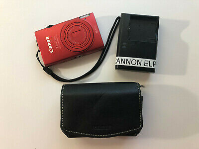 Canon PowerShot ELPH 110 HS / IXUS 125 HS 16.1MP Digital Camera - Red