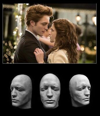 Life Mask Robert Pattinson Life Cast Lifemask Lifecast Twilight Plastic Potter