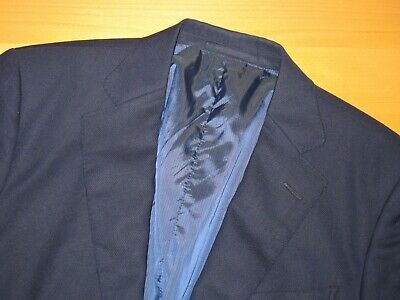 Most Recent Zegna Wool SILK HOPSACK Performance MICRONSPHERE Travel Jacket 48 38