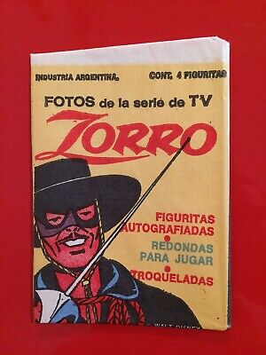 Vintage Zorro Wax Pack Trading Cards Sealed Rare Pack