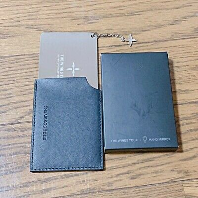 BTS THE WINGS TOUR 2017 LIVE TRILOGY EPISODE Ⅲ HAND MIRROR OFFICIAL GOODS Japan
