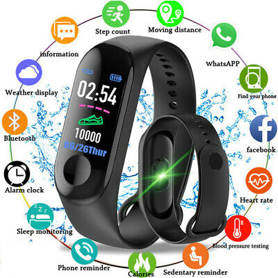 Smartwatch Fitness Bracelet Smartwatch Orologio Notifications Message M3 Th