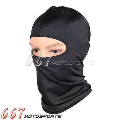 Ski Motorcycle Cycling Balaclava Full Face Mask Neck Scarf Outdoor Mask Black