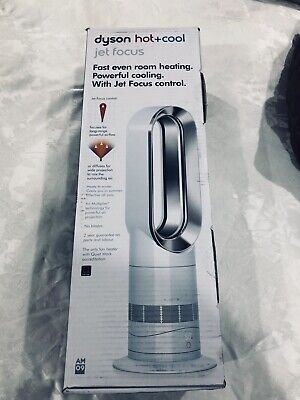 Dyson AM09 Hot + Cool Fan Heater White/Nickel
