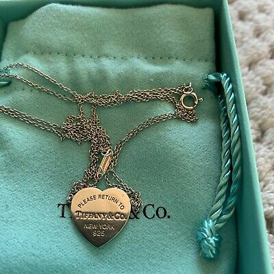 Tiffany & Co Double Strand Heart Necklace