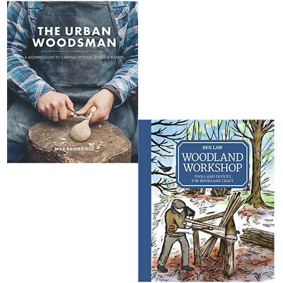 The Urban Woodsman,Woodland Workshop Tools And Devices 2 Books Collection Set