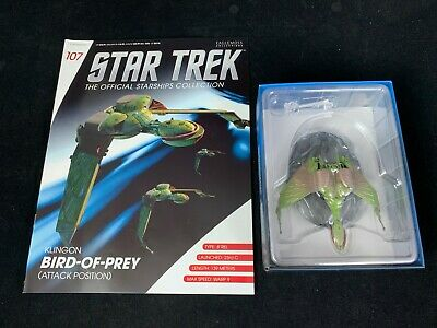Eaglemoss Star Trek Collection - Starship & Magazine #107 - Klingon Bird-Of-Prey