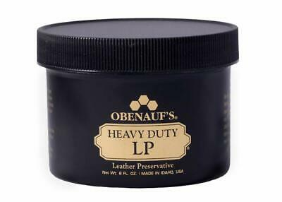 Obenauf's Heavy Duty LP 8oz - Preserves and Protects Leather - Made in the USA