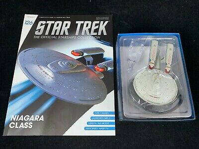 Eaglemoss Star Trek Collection- Starship & Magazine #126 - Uss Princeton Niagara