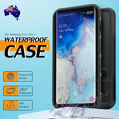 For Samsung S10 Plus Shockproof Case Heavy Duty Tough Waterproof Snowproof Box