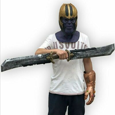 Avengers: Endgame Thanos Double-Edged Sword Cosplay Props 1:1 Figure Detachable