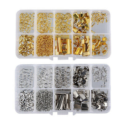 2Box Jewellry Making Supplies Kit Beading Jewelry Findings for DIY Art Craft