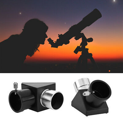 "1.25"" 90° Diagonal Adapter Erecting Image Prism Zenith Mirror fr Telescope WN"