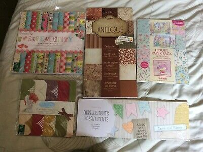 Cardmaking Paper Crafting Craftroom Clearout / Joblot