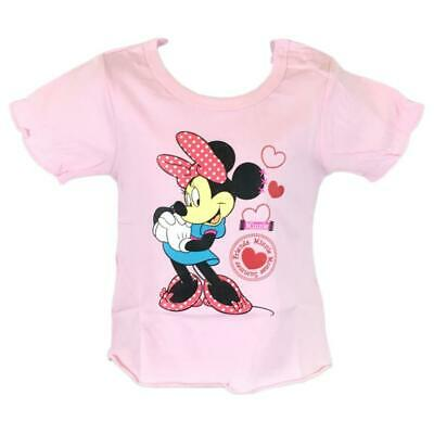Disney Minnie Mouse T-shirt Baby Girls Age 3 months to 24 months Cotton Gift