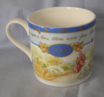 WEDGWOOD BEATRIX POTTER SWEET PETER RABBIT MILLENNIUM MUG boxed & unused