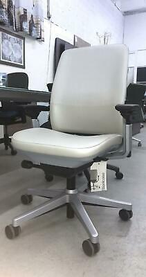Executive Office Chair SteelCase Amia Leather Office Chair