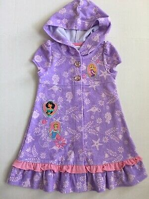 Disney Princess Hooded Terry Coverup NEW Belle Cinderel