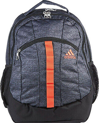 672d568d New Adidas Bookbag Backpack Men Women Stratton XL (Gray/Red/Orang) School