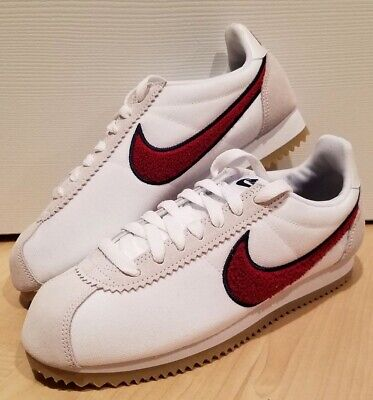 Nike WMNS Classic Cortez Premium 905614-103 White//Red//Gum Brown Women/'s Shoes