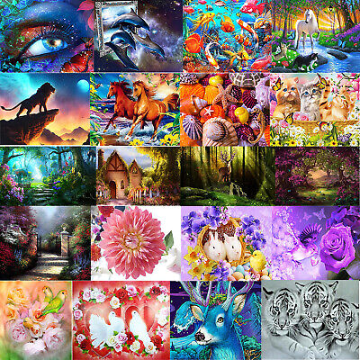 5D DIY Full Drill Diamond Painting Embroidery Cross Stitch Home Kit Decor Gifts