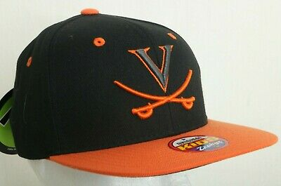 sports shoes 024a1 3b881 NEW Virginia Cavaliers Black Zephyr Snapback Baseball Hat Cap Kids Youth OS